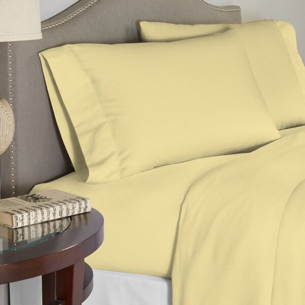 Contemporary 100% Cotton Duvet Set by Alwyn Home